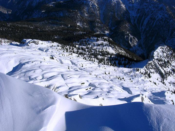 Foto: Andreas Koller / Ski Tour / Durch das Nappental auf die Kräuterin (1919m) / 18.01.2009 23:22:16