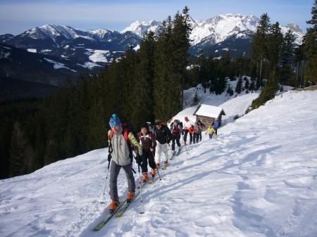 Foto: hofchri / Ski Tour / Kampl (2001m) und Losegg (1647m) von Annaberg über Mauerreith / bei der Ledringeralm / 19.01.2009 20:45:40
