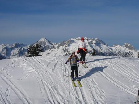 Foto: hofchri / Ski Tour / Kampl (2001m) und Losegg (1647m) von Annaberg über Mauerreith / Microabfahrt / 19.01.2009 20:48:34