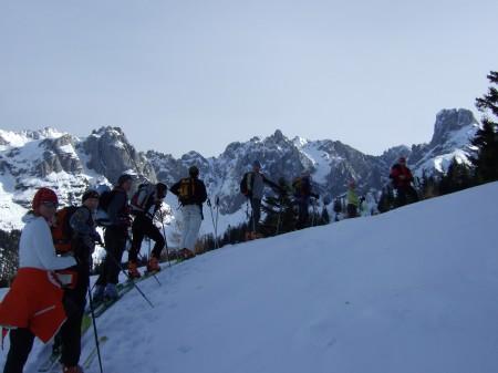 Foto: hofchri / Ski Tour / Kampl (2001m) und Losegg (1647m) von Annaberg über Mauerreith / Aufstieg Richtung Loseggalm / 19.01.2009 20:46:07