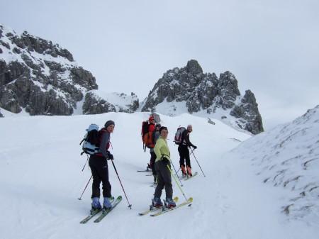 Foto: hofchri / Ski Tour / Kampl (2001m) und Losegg (1647m) von Annaberg über Mauerreith / vor dem Grat zum Gipfel / 19.01.2009 20:50:01