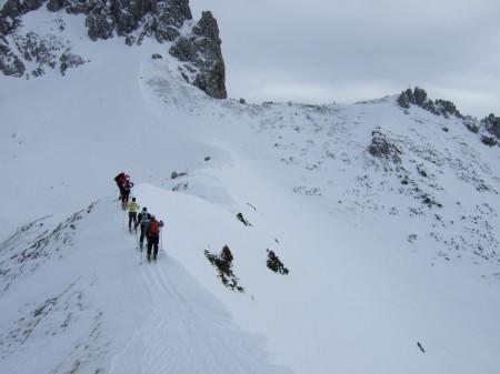 Foto: hofchri / Ski Tour / Kampl (2001m) und Losegg (1647m) von Annaberg über Mauerreith / der Grat mit Wechten / 19.01.2009 20:50:43