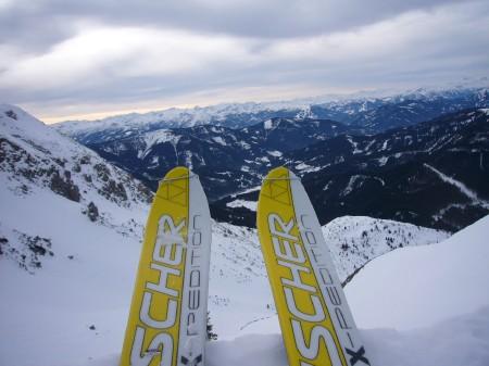 Foto: hofchri / Ski Tour / Kampl (2001m) und Losegg (1647m) von Annaberg über Mauerreith / 19.01.2009 20:50:53