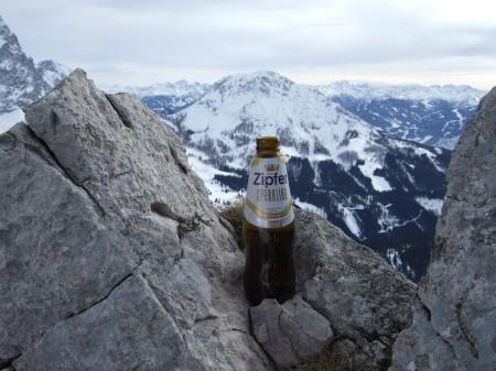 Foto: hofchri / Ski Tour / Kampl (2001m) und Losegg (1647m) von Annaberg über Mauerreith / MEIN GIPFELBIER! / 19.01.2009 20:51:46