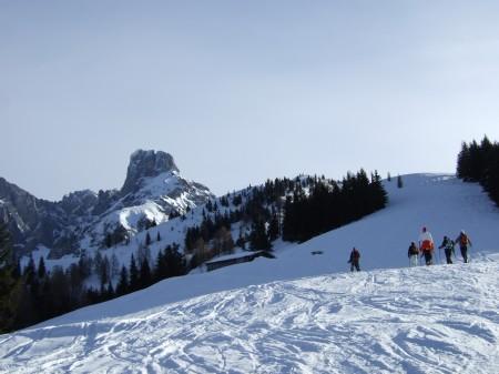 Foto: hofchri / Ski Tour / Kampl (2001m) und Losegg (1647m) von Annaberg über Mauerreith / Die Bischofsmütze / 19.01.2009 20:46:48