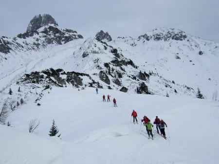 Foto: hofchri / Ski Tour / Kampl (2001m) und Losegg (1647m) von Annaberg über Mauerreith / unterwegs zum Losegg / 19.01.2009 20:54:46