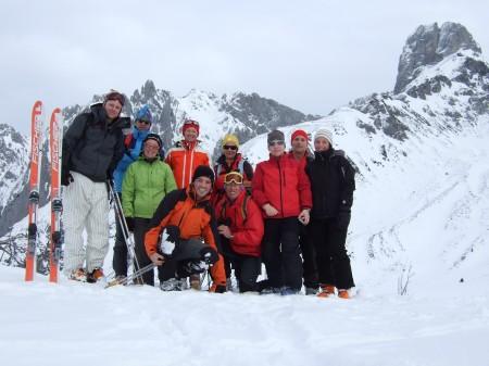 Foto: hofchri / Ski Tour / Kampl (2001m) und Losegg (1647m) von Annaberg über Mauerreith / auf dem Losegg / 19.01.2009 20:55:04