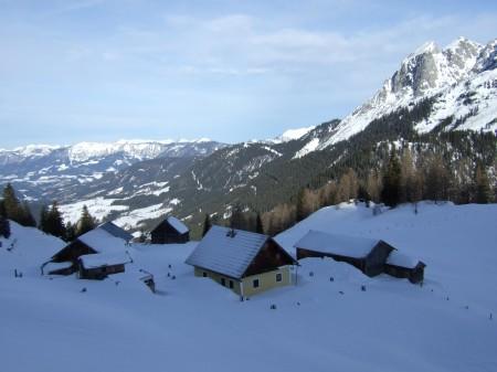 Foto: hofchri / Ski Tour / Kampl (2001m) und Losegg (1647m) von Annaberg über Mauerreith / an der Looseggalm vorbei / 19.01.2009 20:47:29