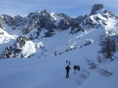 Foto: hofchri / Ski Tour / Kampl (2001m) und Losegg (1647m) von Annaberg über Mauerreith / flaches Gehgelände / 19.01.2009 20:47:53