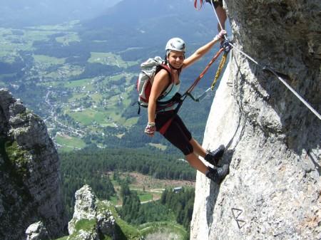 Klettersteig C : Fotogalerie tourfotos fotos zur klettersteig tour loser m