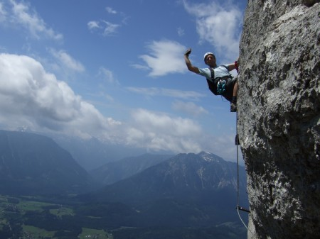 Foto: hofchri / Klettersteig Tour / Loser (1837m) über