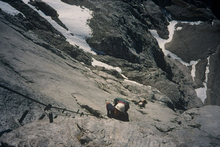 Foto: Manfred Karl / Klettersteig Tour / Johann Klettersteig auf die Dachsteinwarte / 22.01.2009 21:25:52