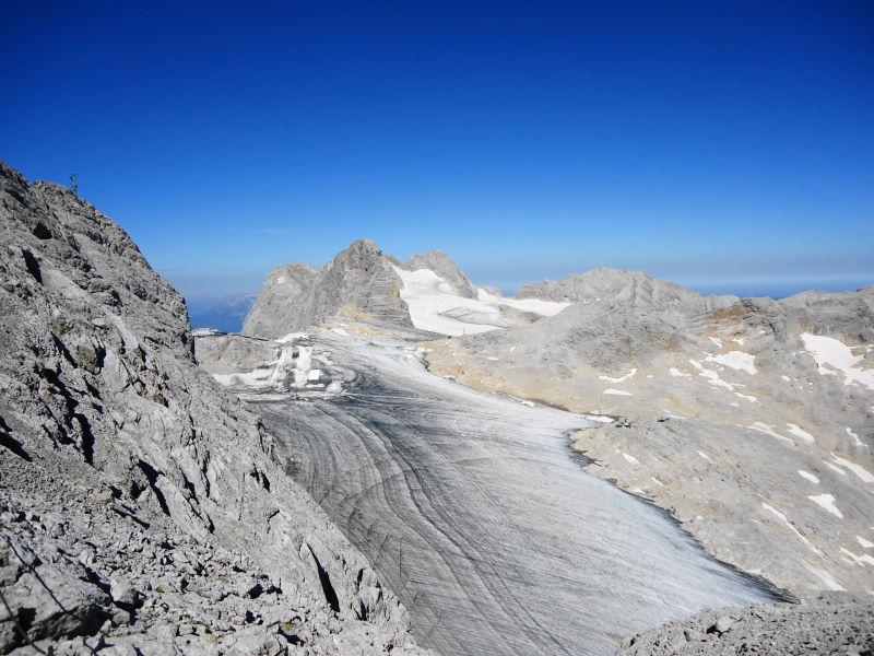 Foto: Günter Siegl / Klettersteig Tour / Irg – Klettersteig auf den Koppenkarstein / Schladminger Gletscher / 24.08.2015 10:35:44