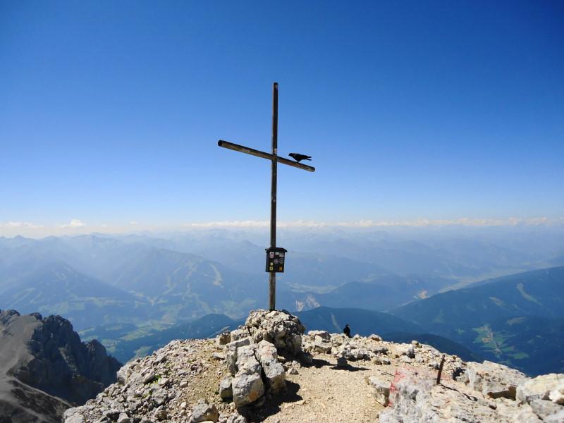 Foto: Günter Siegl / Klettersteig Tour / Irg – Klettersteig auf den Koppenkarstein / Gr. Koppenkarstein / 24.08.2015 10:32:40