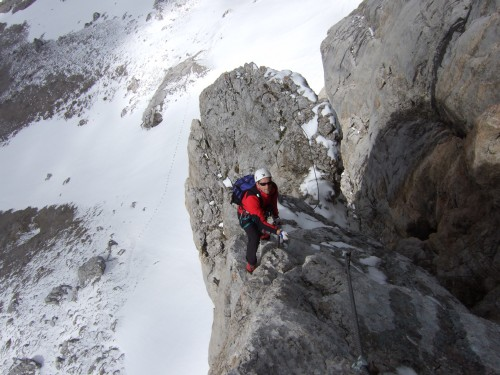 Foto: hofchri / Klettersteig Tour / Irg – Klettersteig auf den Koppenkarstein / genial ausgesetzt - nichts für schwache Nerven / 20.07.2009 21:42:55