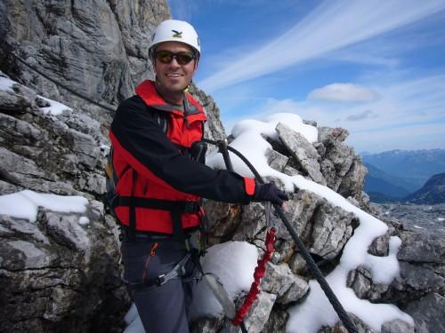 Foto: hofchri / Klettersteig Tour / Irg – Klettersteig auf den Koppenkarstein / wieder eine Fotopause / 20.07.2009 21:43:27