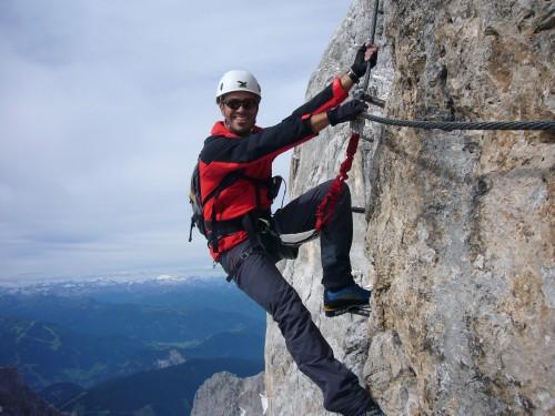 Foto: hofchri / Klettersteig Tour / Irg – Klettersteig auf den Koppenkarstein / Fotoshooting vom Feinsten / 20.07.2009 21:43:53