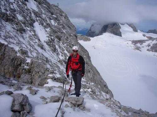 Foto: hofchri / Klettersteig Tour / Irg – Klettersteig auf den Koppenkarstein / der weitere Aufstieg zum Koppenkarstein / 20.07.2009 21:47:01