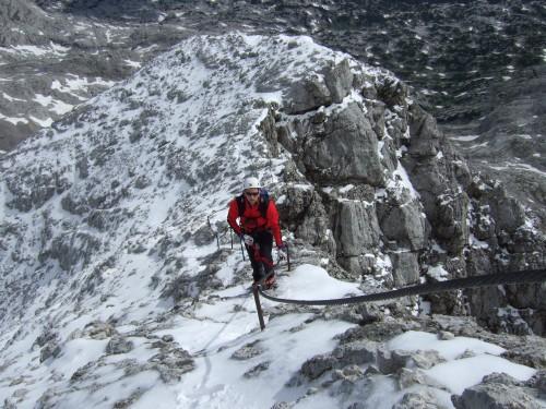 Foto: hofchri / Klettersteig Tour / Irg – Klettersteig auf den Koppenkarstein / windig und luftig / 20.07.2009 21:47:40