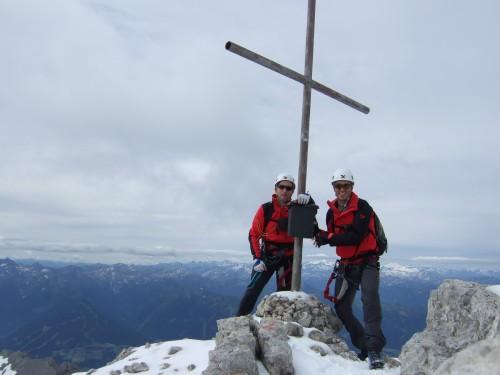 Foto: hofchri / Klettersteig Tour / Irg – Klettersteig auf den Koppenkarstein / das ist der Gipfel / 20.07.2009 21:48:46