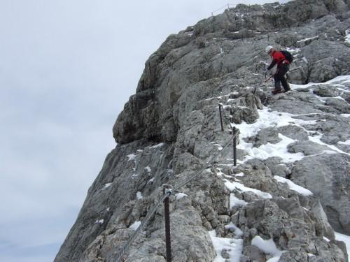 Foto: hofchri / Klettersteig Tour / Irg – Klettersteig auf den Koppenkarstein / Abstieg über den Westgrat-Klettersteig / 20.07.2009 21:49:12