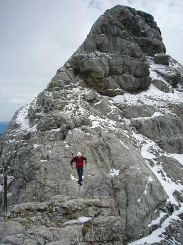 Foto: hofchri / Klettersteig Tour / Irg – Klettersteig auf den Koppenkarstein / hochalpin und daher recht Wind ausgesetzt / 20.07.2009 21:52:03