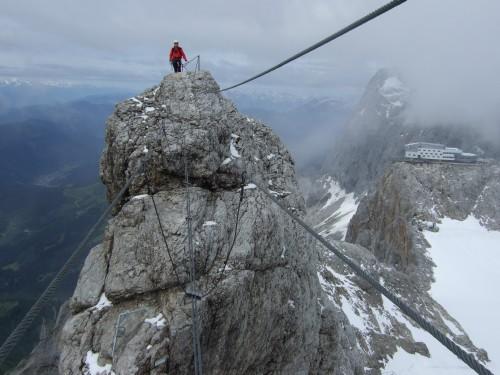 Foto: hofchri / Klettersteig Tour / Irg – Klettersteig auf den Koppenkarstein / los gehts / 20.07.2009 21:52:24
