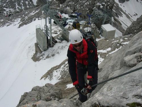 Foto: hofchri / Klettersteig Tour / Irg – Klettersteig auf den Koppenkarstein / die letzten Meter / 20.07.2009 21:53:23