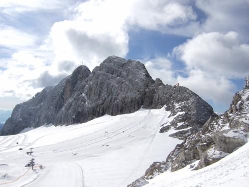 Foto: hofchri / Klettersteig Tour / Irg – Klettersteig auf den Koppenkarstein / Zustieg von der Bergstation Hunerkogel / 20.07.2009 21:15:17
