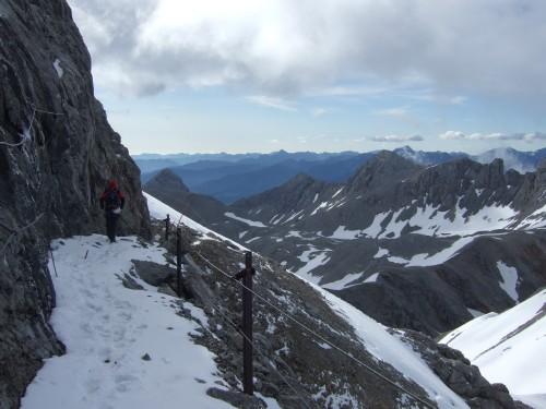 Foto: hofchri / Klettersteig Tour / Irg – Klettersteig auf den Koppenkarstein / zum Glück auch eine Neuschneeauflage / 20.07.2009 21:18:31