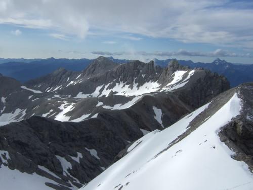 Foto: hofchri / Klettersteig Tour / Irg – Klettersteig auf den Koppenkarstein / Blick zum Ramsauer Klettersteig (C) / 20.07.2009 21:19:06