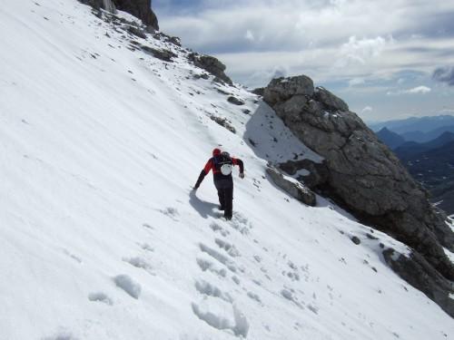 Foto: hofchri / Klettersteig Tour / Irg – Klettersteig auf den Koppenkarstein / unverspurter Zustieg - keine Markierungen / 20.07.2009 21:20:14