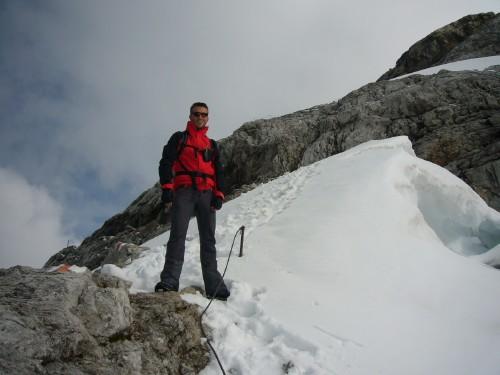 Foto: hofchri / Klettersteig Tour / Irg – Klettersteig auf den Koppenkarstein / Steigeisen können im Rucksack bleiben / 20.07.2009 21:24:53