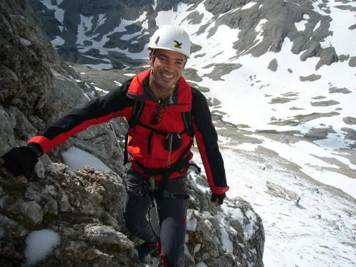 Foto: hofchri / Klettersteig Tour / Irg – Klettersteig auf den Koppenkarstein / Handschuhe sind immer gut / 20.07.2009 21:30:16