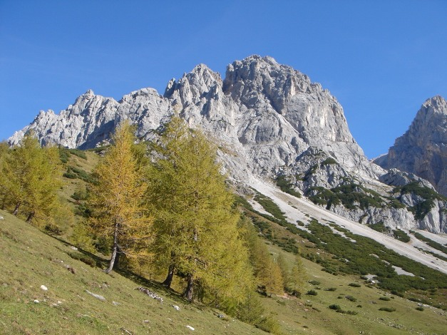 Foto: Manfred Karl / Klettersteig Tour / Irg – Klettersteig auf den Koppenkarstein / Brandkar mit dem Ndr. Türlspitz / 22.01.2009 22:13:55
