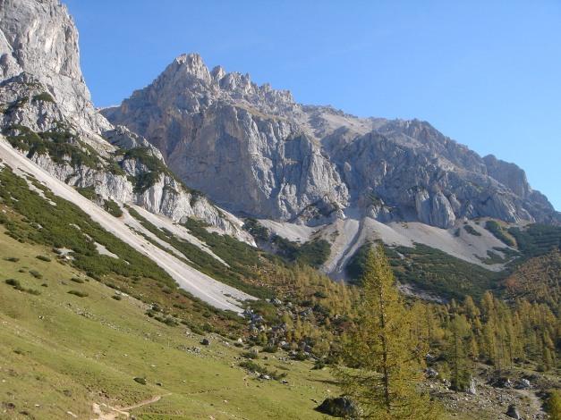 Foto: Manfred Karl / Klettersteig Tour / Irg – Klettersteig auf den Koppenkarstein / Wanderung ins Edelgrieß, im Herbst ein wahrer Genuss / 22.01.2009 22:13:13