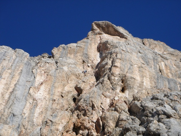 Foto: Manfred Karl / Klettersteig Tour / Irg – Klettersteig auf den Koppenkarstein / Schaut guat aus / 22.01.2009 22:09:28