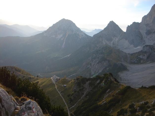 Foto: Manfred Karl / Klettersteig Tour / Irg – Klettersteig auf den Koppenkarstein / Südwandhütte / 22.01.2009 21:53:40