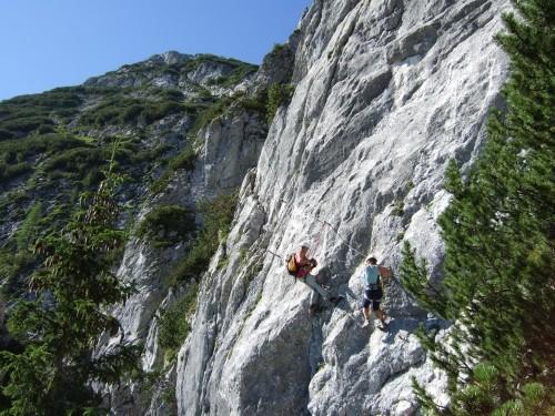 Foto: hofchri / Klettersteig Tour / Donnerkogel (2054m) über