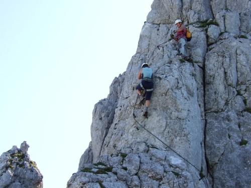 Klettersteig Oberösterreich : Alpintouren.com klettersteig tour donnerkogel 2054m über