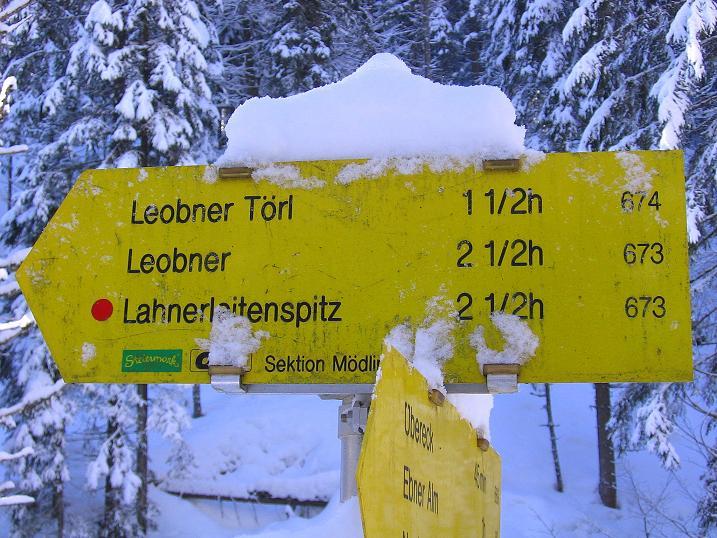 Foto: Andreas Koller / Ski Tour / Über den Leobner (2036m) / 25.01.2009 23:52:02
