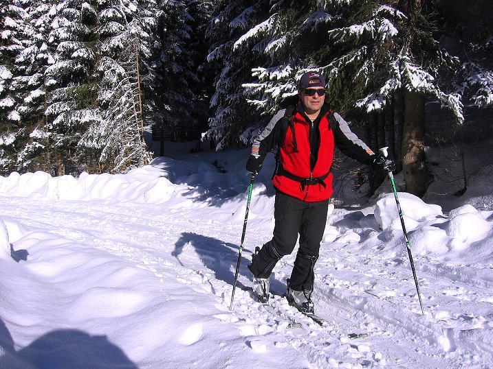 Foto: Andreas Koller / Ski Tour / Über den Leobner (2036m) / 25.01.2009 23:51:46