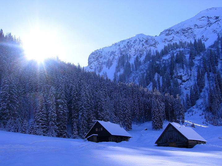 Foto: Andreas Koller / Ski Tour / Über den Leobner (2036m) / 25.01.2009 23:50:02