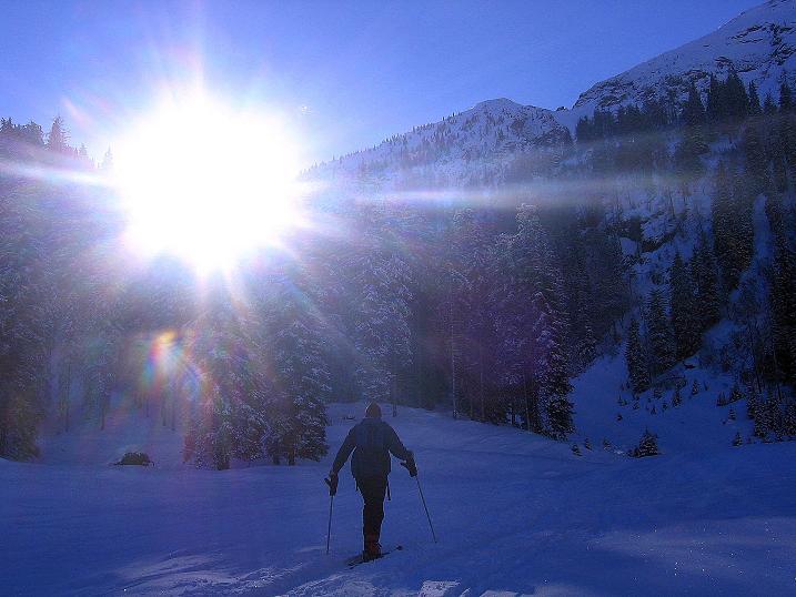 Foto: Andreas Koller / Ski Tour / Über den Leobner (2036m) / 25.01.2009 23:49:24
