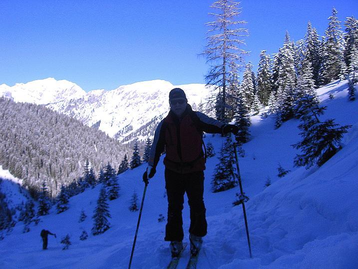 Foto: Andreas Koller / Ski Tour / Über den Leobner (2036m) / 25.01.2009 23:49:13