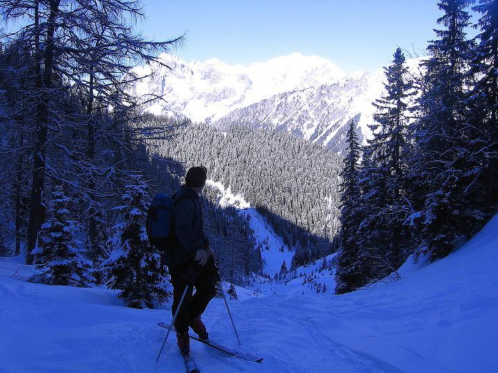 Foto: Andreas Koller / Ski Tour / Über den Leobner (2036m) / 25.01.2009 23:48:51