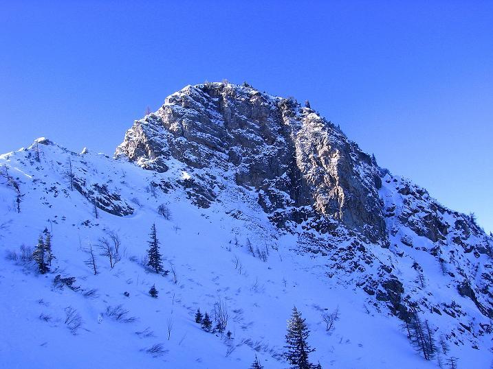 Foto: Andreas Koller / Ski Tour / Über den Leobner (2036m) / Leobner Mauer / 25.01.2009 23:47:33