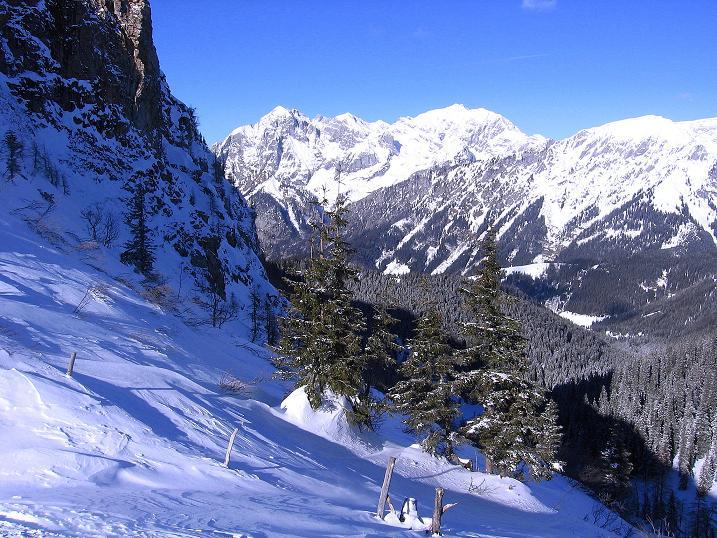 Foto: Andreas Koller / Ski Tour / Über den Leobner (2036m) / 25.01.2009 23:44:12