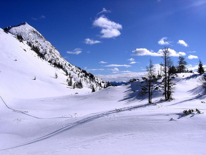 Foto: Andreas Koller / Ski Tour / Über den Leobner (2036m) / 25.01.2009 23:43:51