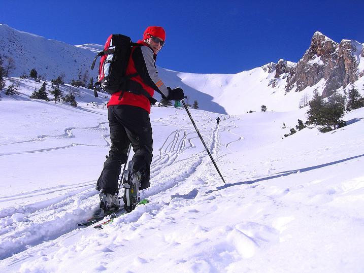 Foto: Andreas Koller / Ski Tour / Über den Leobner (2036m) / 25.01.2009 23:43:41